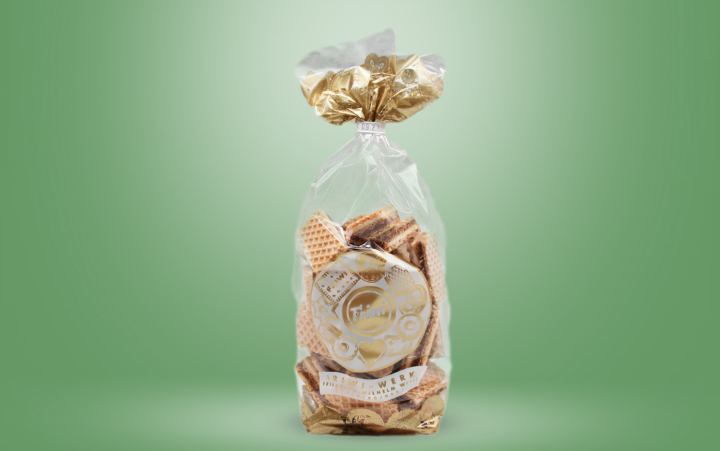 Kakao-Vanille-Waffeln Tüte 200g