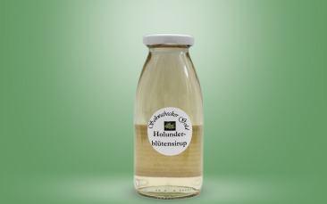 Holunderblüten Sirup Flasche 0,25l