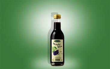 Holunderwein, Flasche