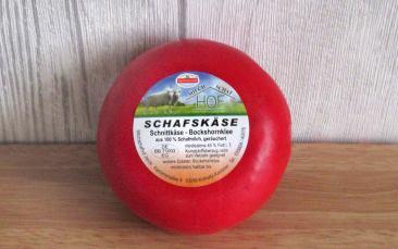 Schnittkäse geräuchert Bockshornklee (100% Schaf)