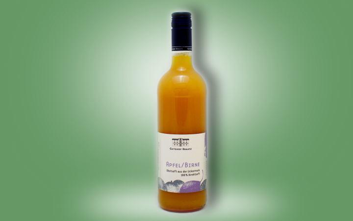 Apfel-Birnen-Saft Flasche 0,75l