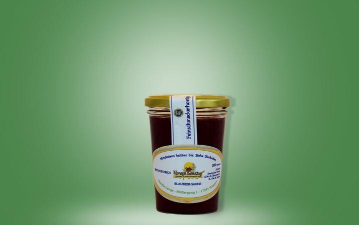 Honigmischung, Blaubeer-Sahne