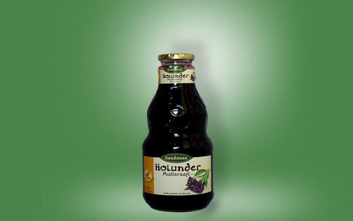 Holundermuttersaft Flasche 0,75l