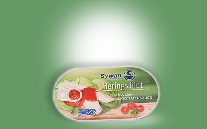 Heringsfilet in fruchtiger Bio-Tomatensauce 200g