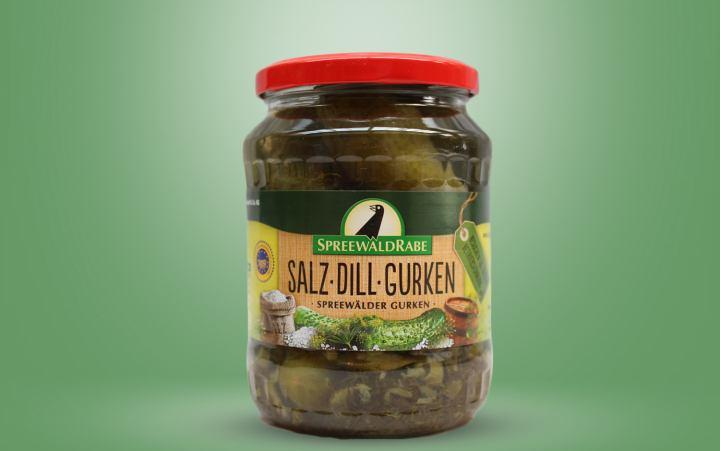 RABE Salz-Dill-Gurken Glas 650g