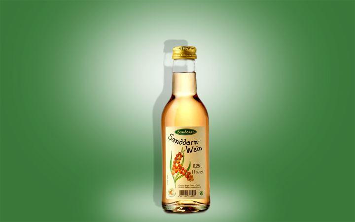 Sanddornwein Flasche 0,25l