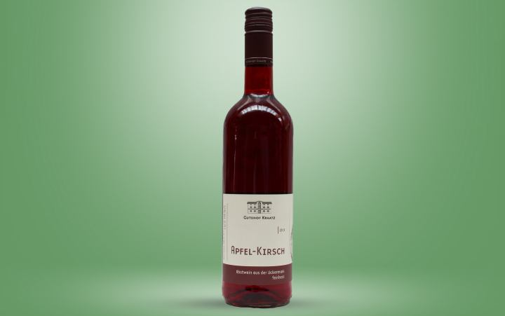 Apfel-Kirsch-Wein Flasche 0,75l