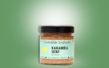 Karamellsenf Glas 190ml