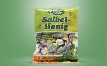 Edel-Honig-Salbei-Bonbon Tüte 100g