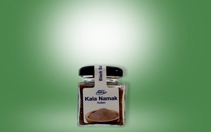 Salz Kala Namak Glas 50g