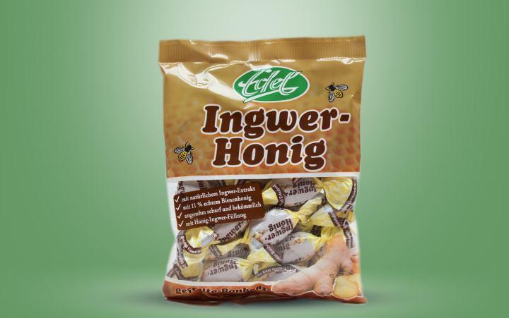 Edel-Ingwer-Honig-Bonbon Tüte 100g