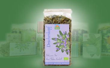 Drachenkopf-Bio-Tee (reiner Kräutertee) Tüte 40g
