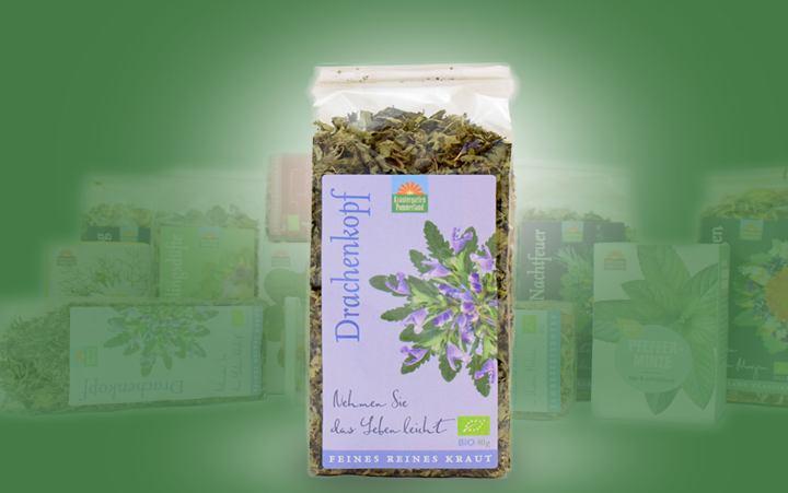 Drachenkopf-Bio-Tee (reiner Kräutertee)