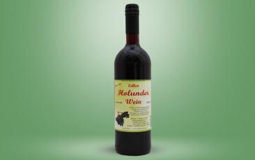 Holunderwein Flasche 0,75l
