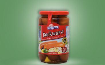 Bockwurst 5 Stück im Glas 650g
