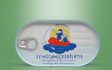 """HEIN & GRÆTJE"" BIO Feinschmeckerplatte Dose 200g"