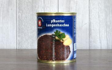 Pikantes Lungenhaschee Dose