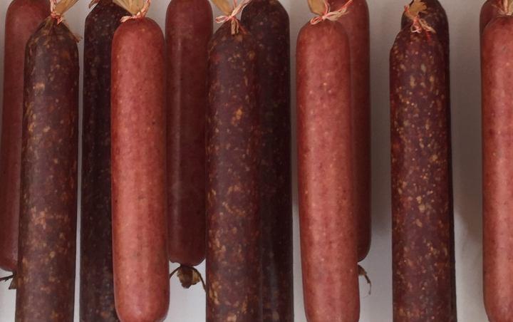 homemade- Rinder-Rosen-Salami