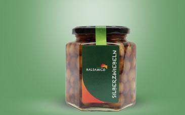 Premium Balsamico Zwiebeln im Glas 390ml